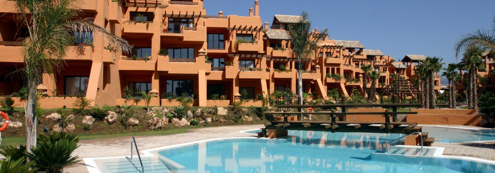Bahia Alcantara5* prestigous complex  of just luxurious apartments situated literally alongside the beach at San Pedro (Marbella).